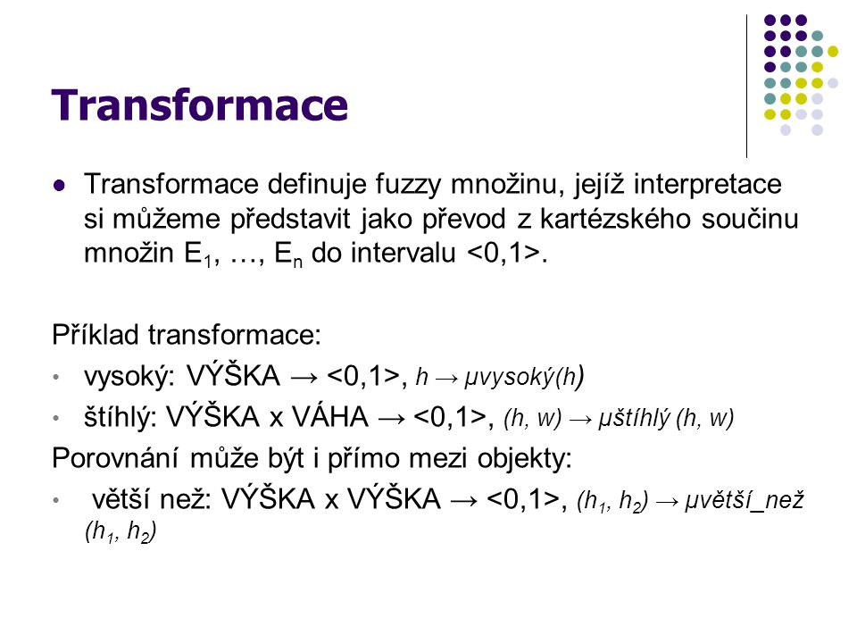 Transformace