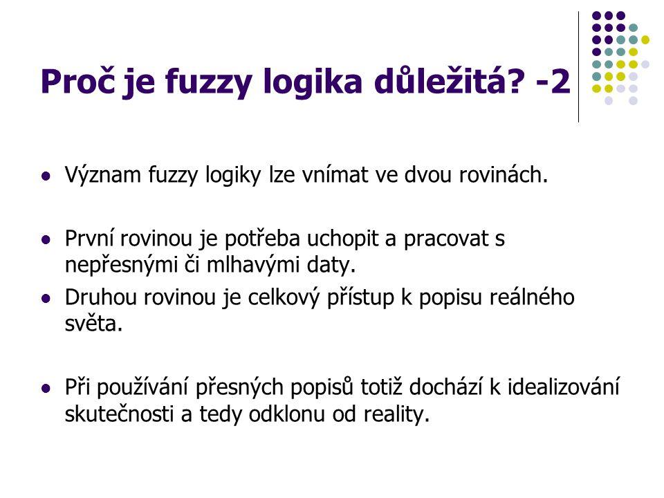 Proč je fuzzy logika důležitá -2