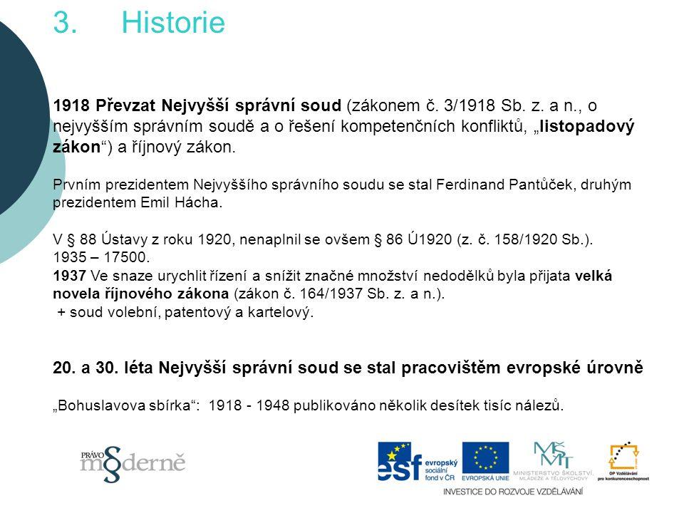 3. Historie