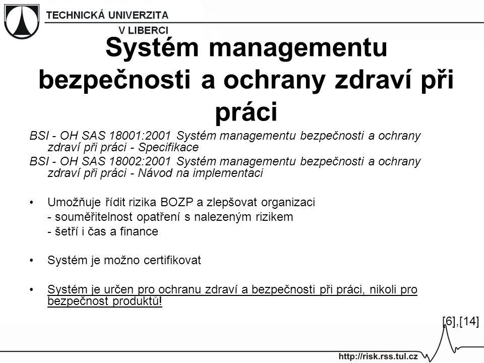 Systém managementu bezpečnosti a ochrany zdraví při práci