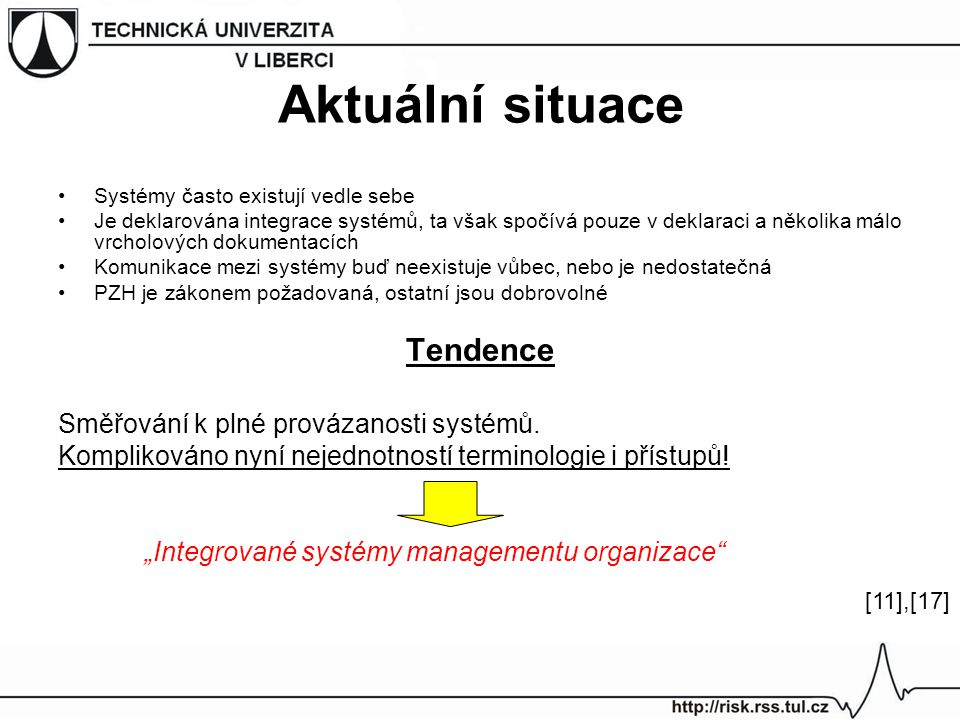 """""""Integrované systémy managementu organizace"""