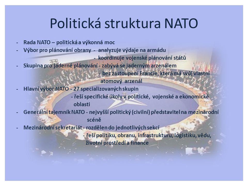 Politická struktura NATO