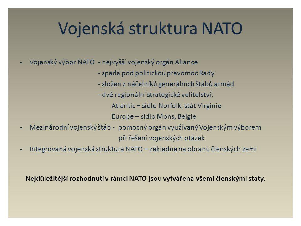 Vojenská struktura NATO