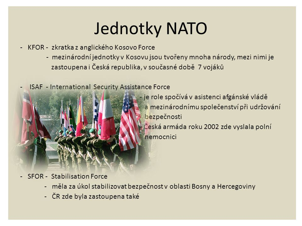 Jednotky NATO