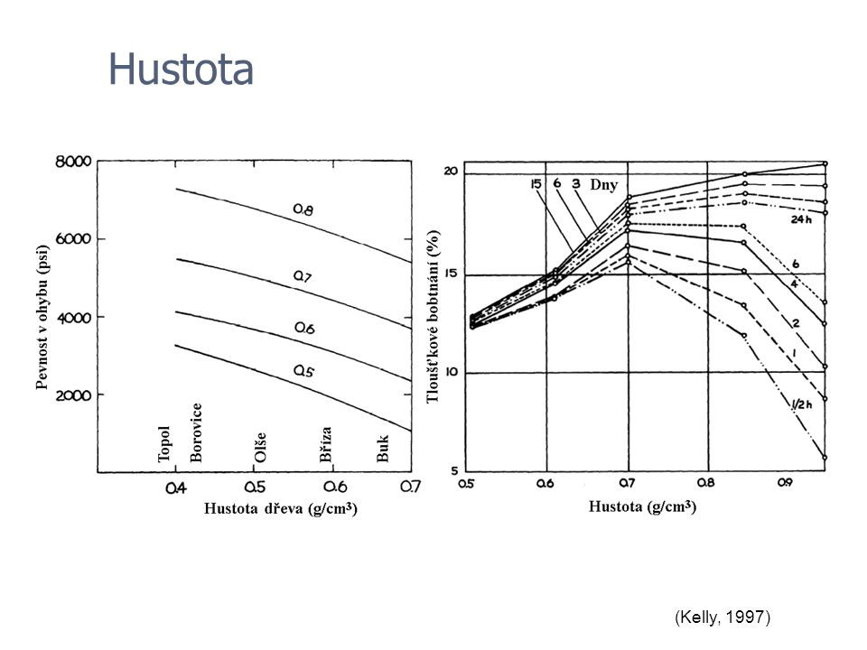 Hustota (Kelly, 1997)