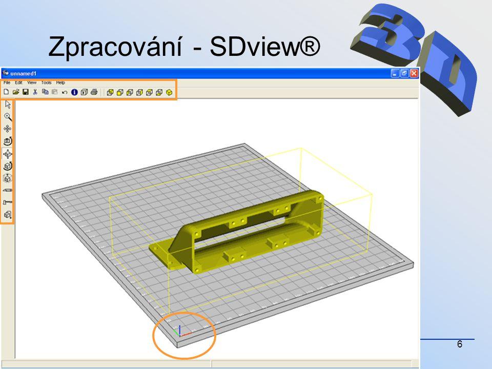 Zpracování - SDview® 3D 15.4.2008 xdvoi03
