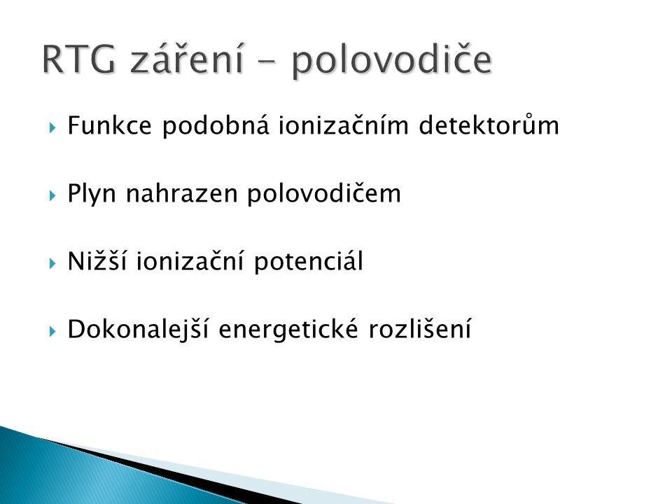 RTG záření - polovodiče
