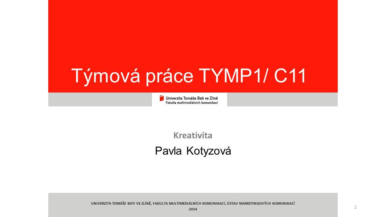 Kreativita Pavla Kotyzová