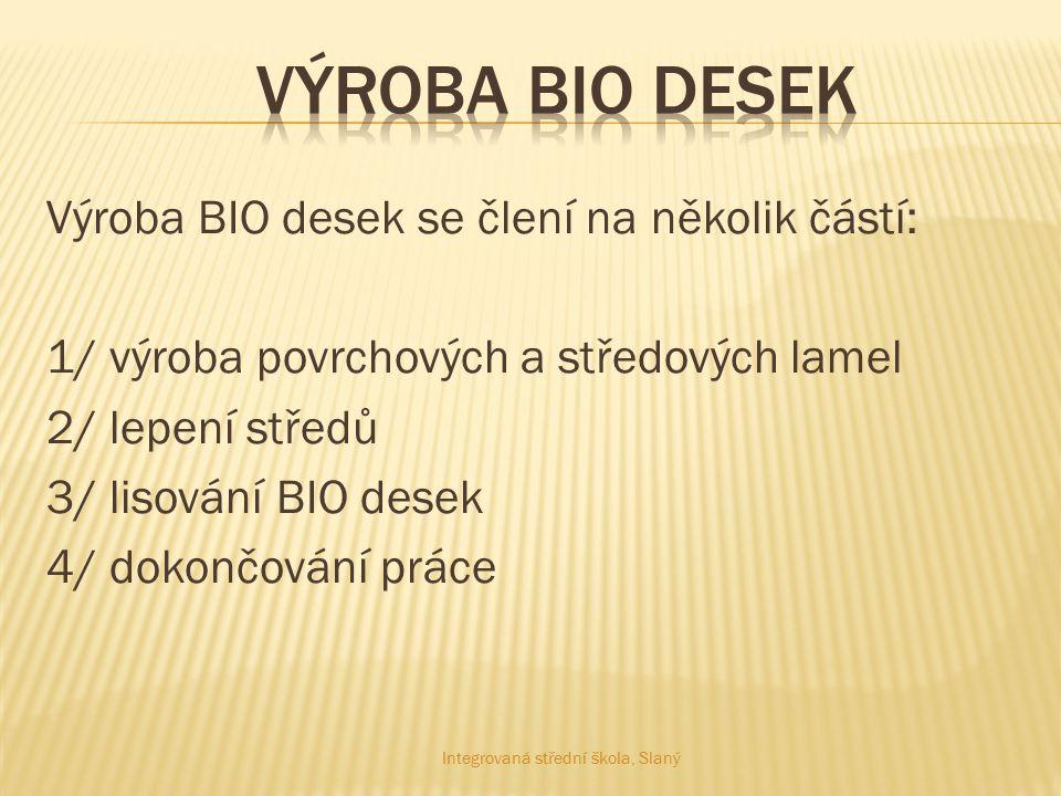 Výroba BIO desek