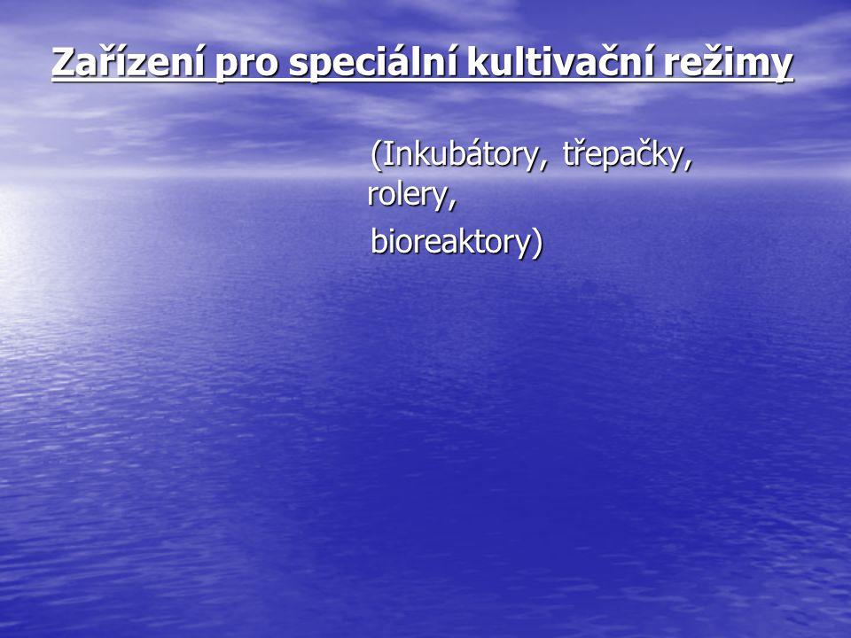 Zařízení pro speciální kultivační režimy