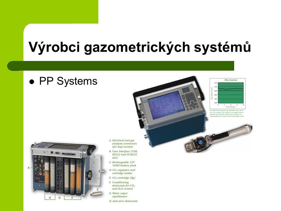 Výrobci gazometrických systémů