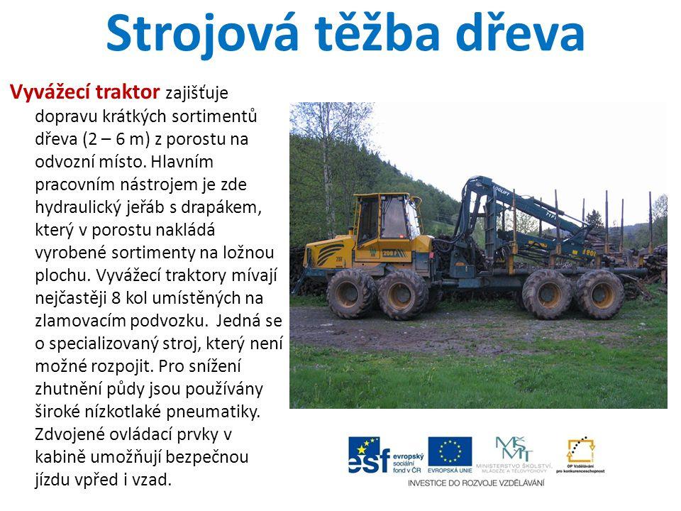 Strojová těžba dřeva