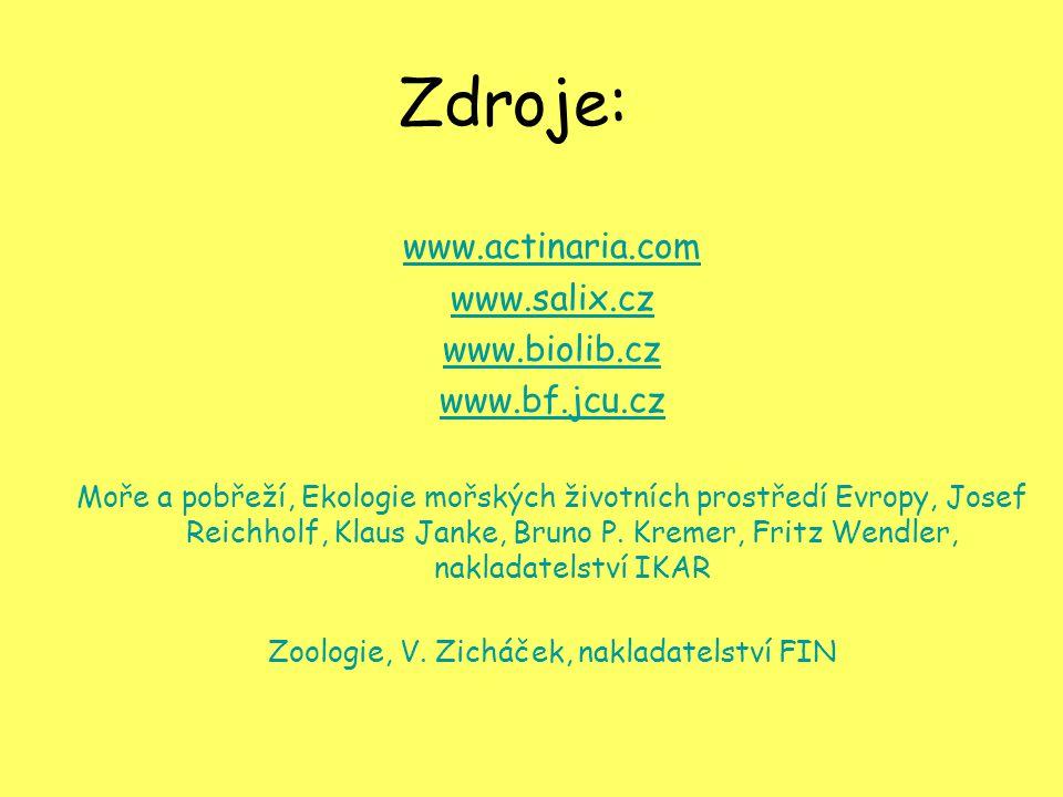 Zoologie, V. Zicháček, nakladatelství FIN