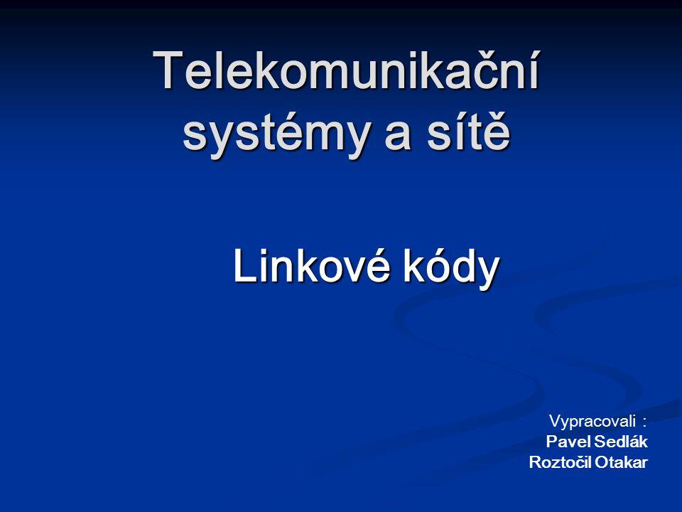 Telekomunikační systémy a sítě
