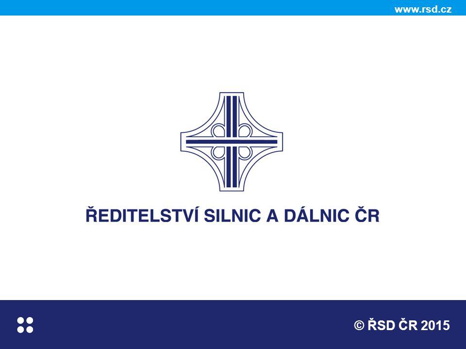 © ŘSD ČR 2015