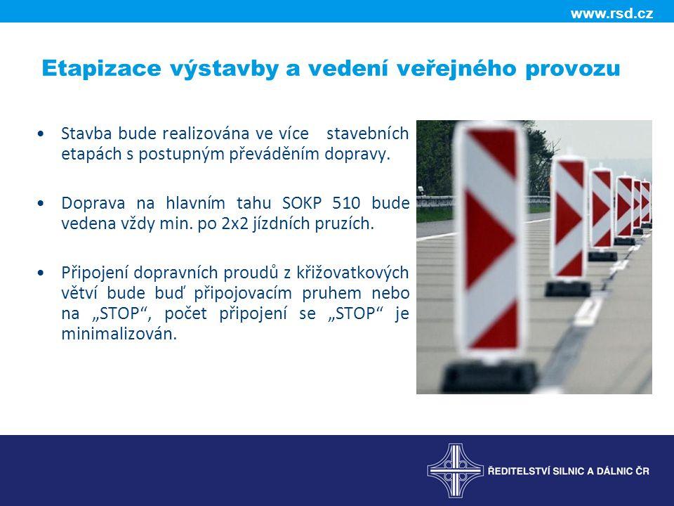 Etapizace výstavby a vedení veřejného provozu