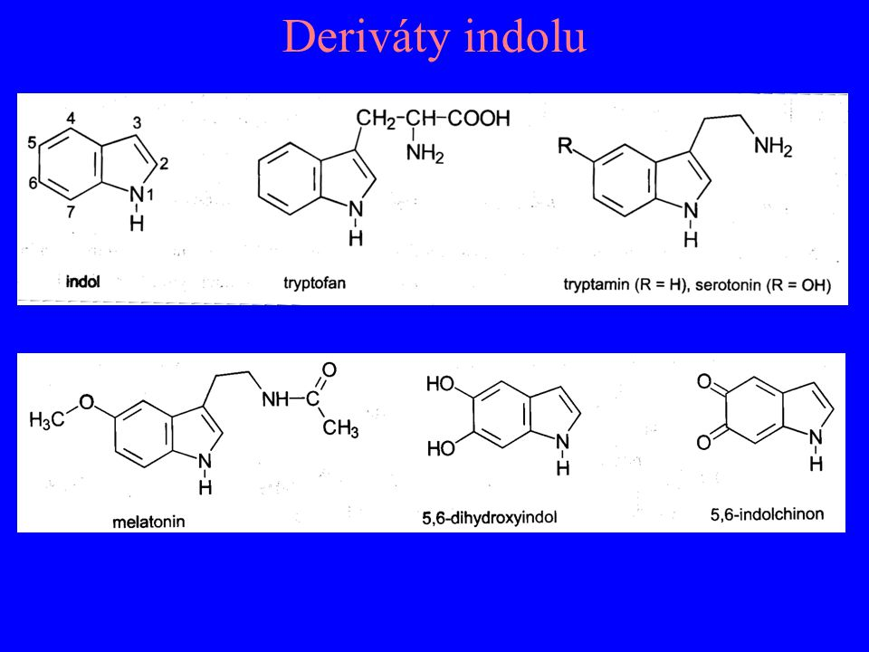 Deriváty indolu