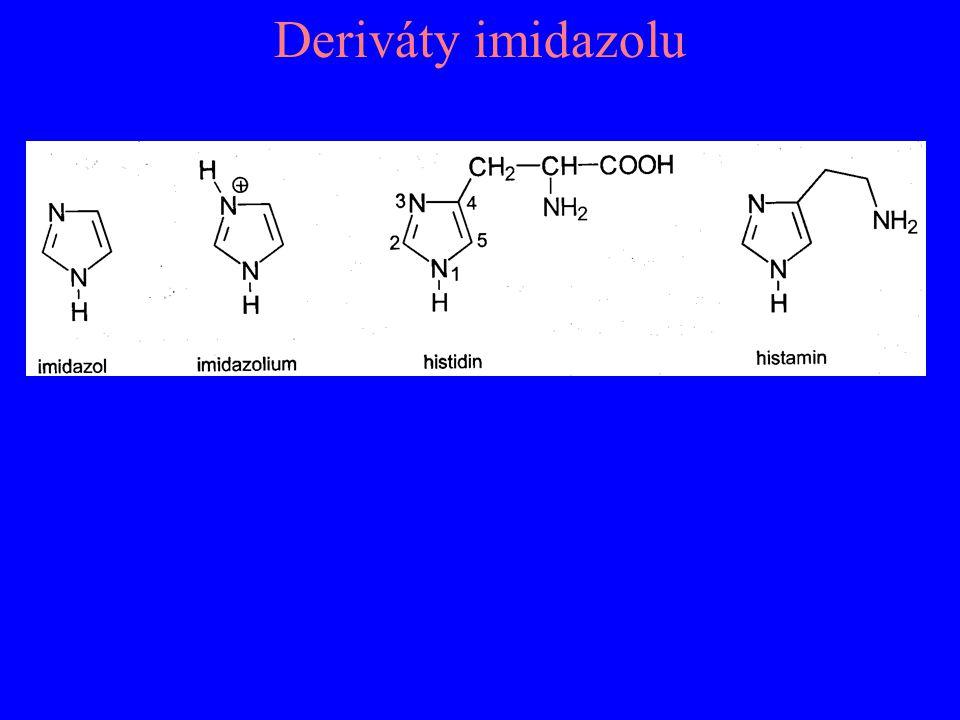 Deriváty imidazolu