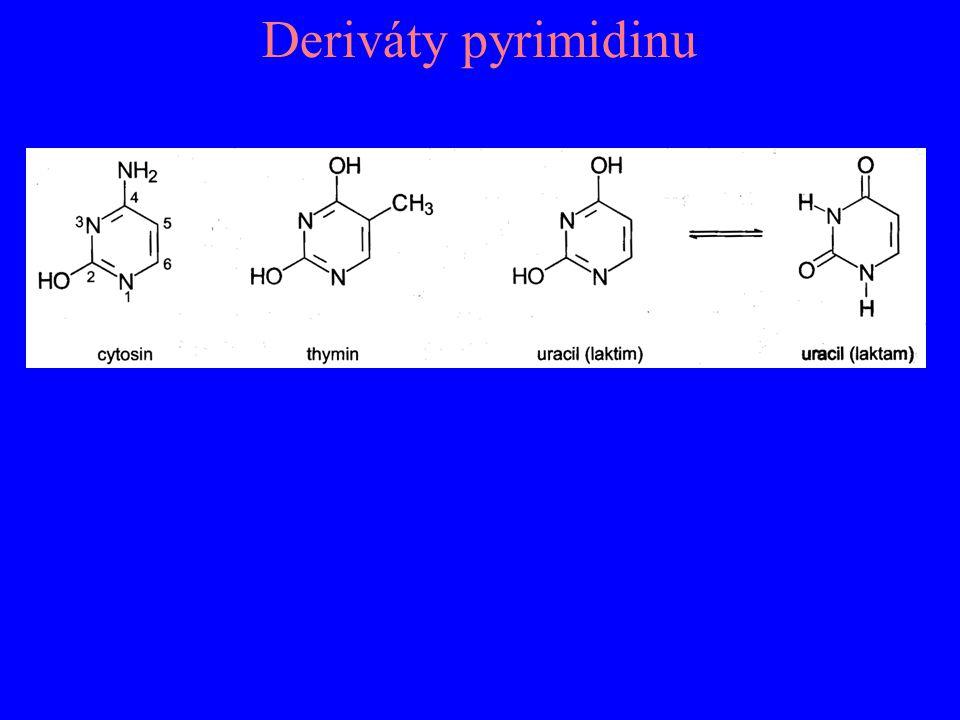 Deriváty pyrimidinu