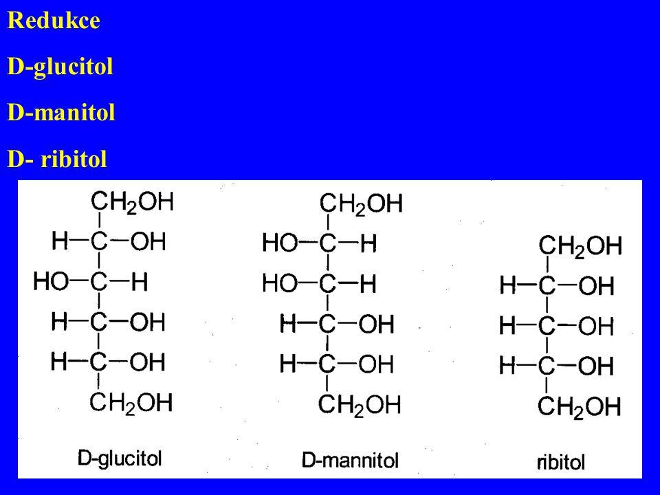 Redukce D-glucitol D-manitol D- ribitol
