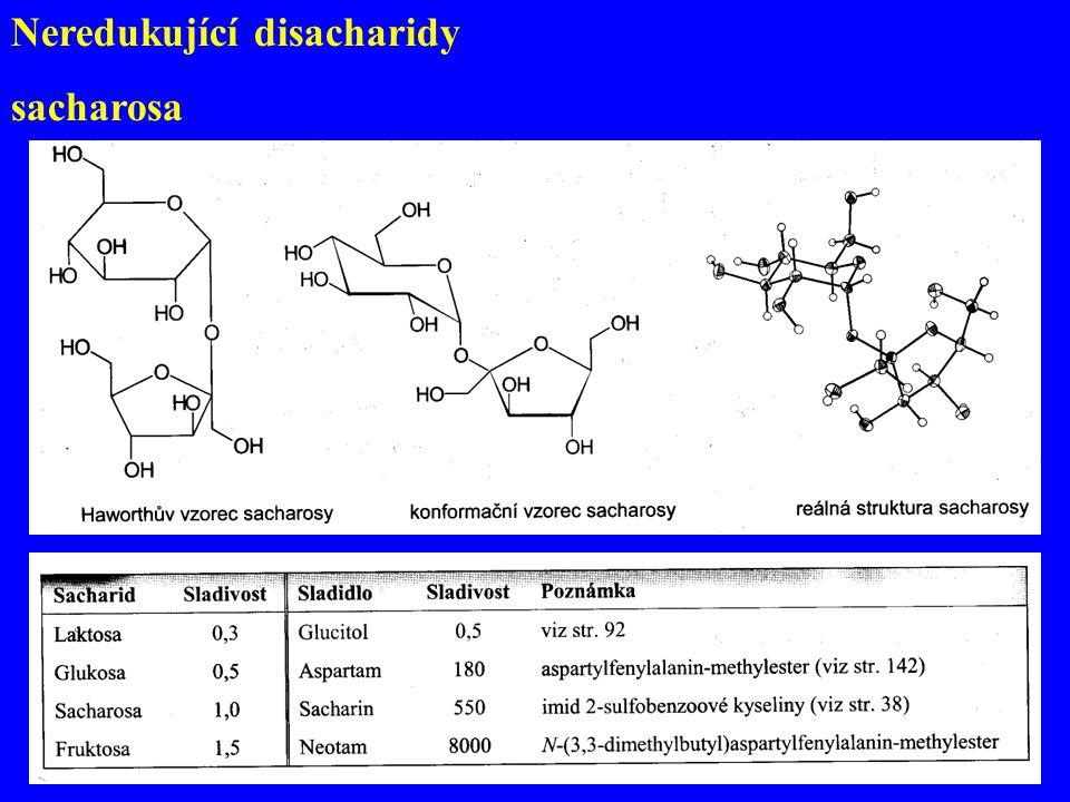 Neredukující disacharidy