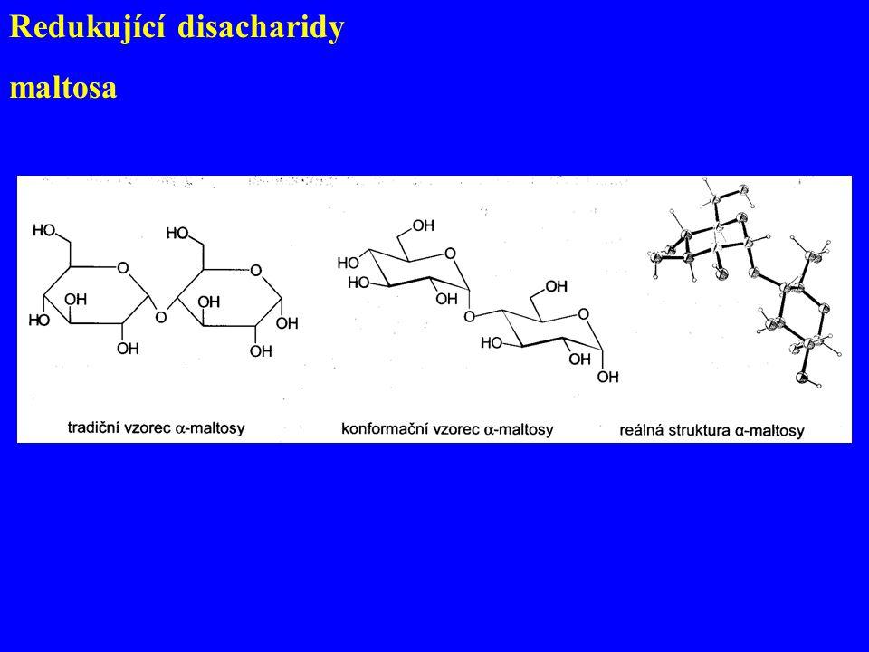 Redukující disacharidy