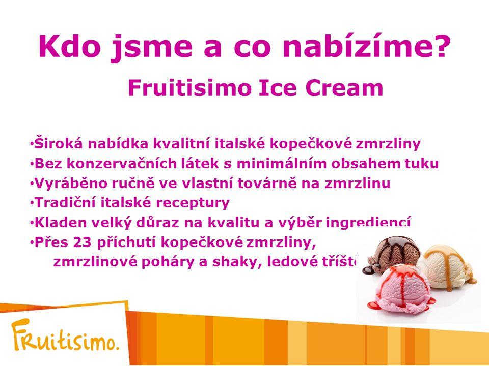 Kdo jsme a co nabízíme Fruitisimo Ice Cream