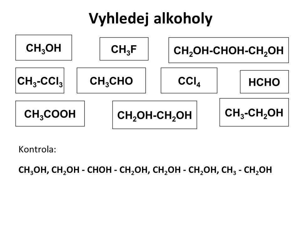 Vyhledej alkoholy Kontrola: