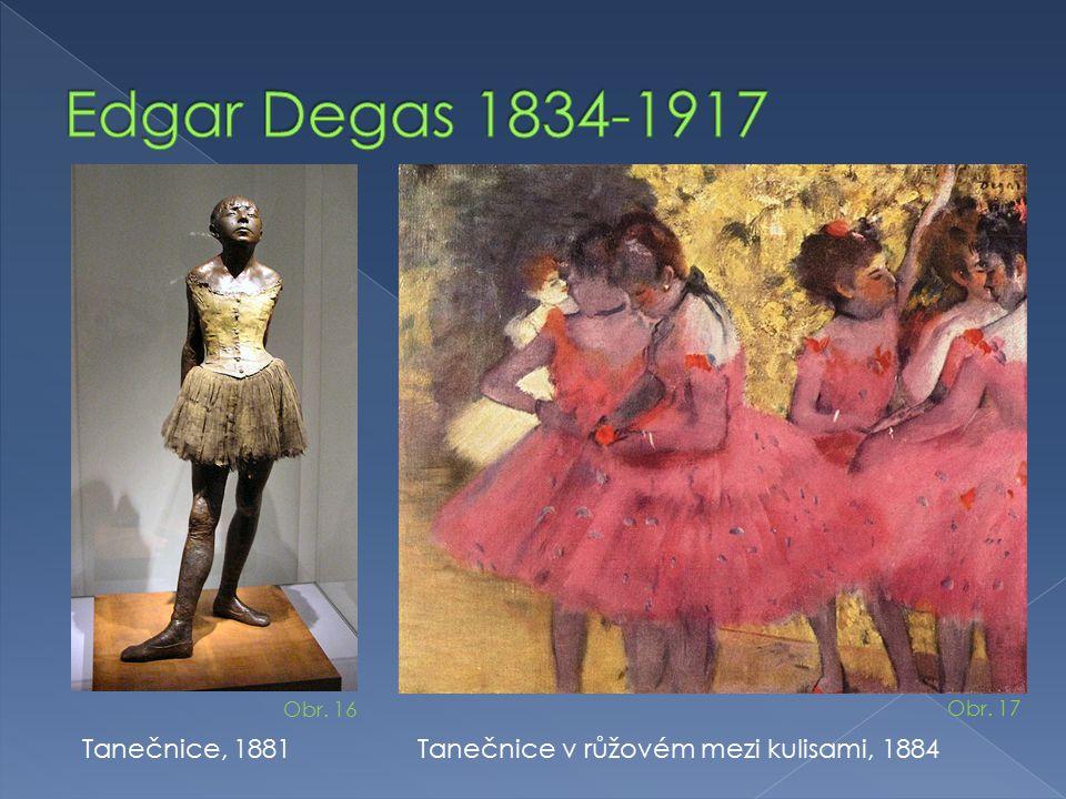 Edgar Degas 1834-1917 Tanečnice, 1881