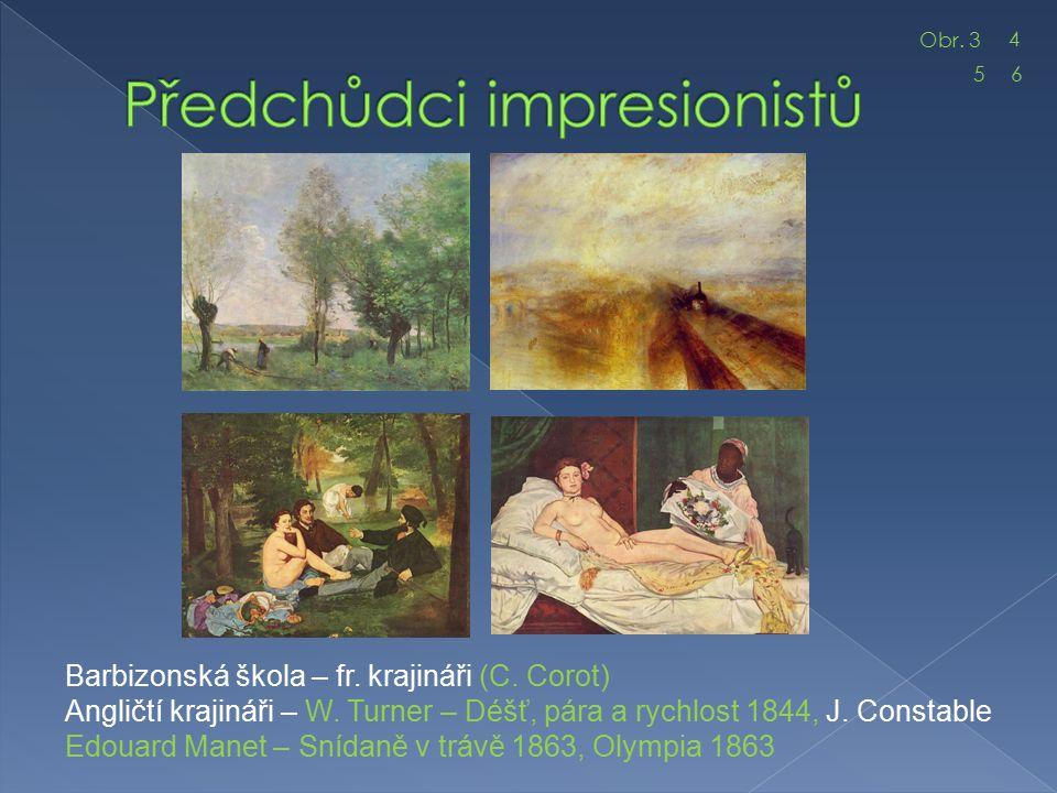Předchůdci impresionistů