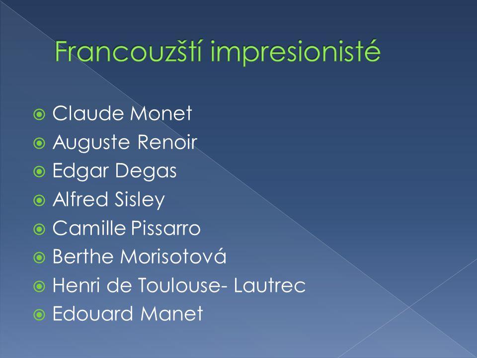 Francouzští impresionisté