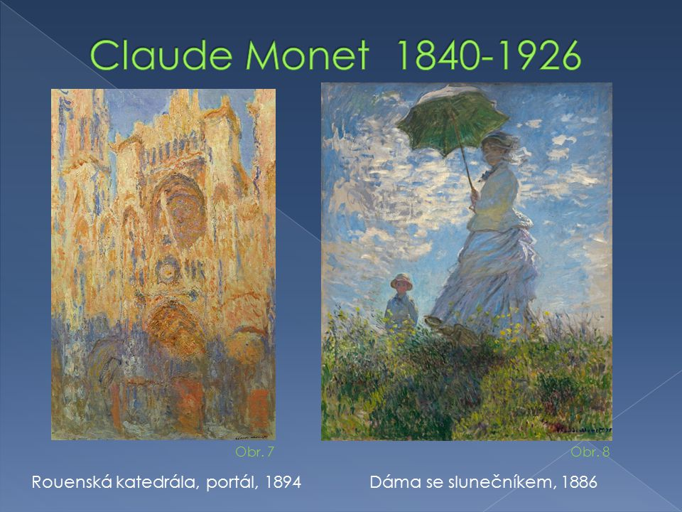 Claude Monet 1840-1926 Rouenská katedrála, portál, 1894