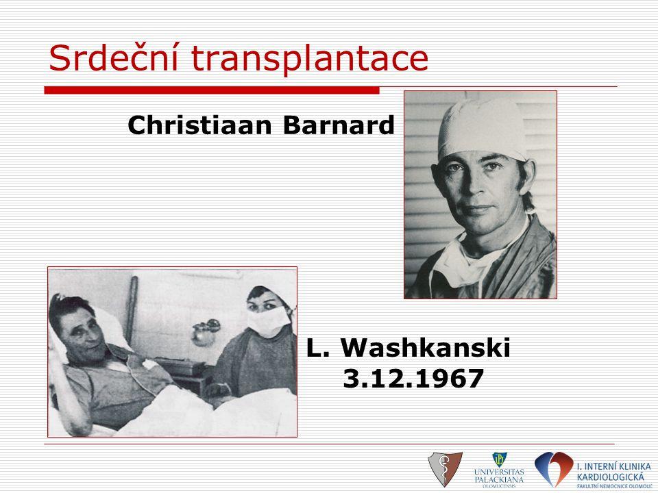 Srdeční transplantace