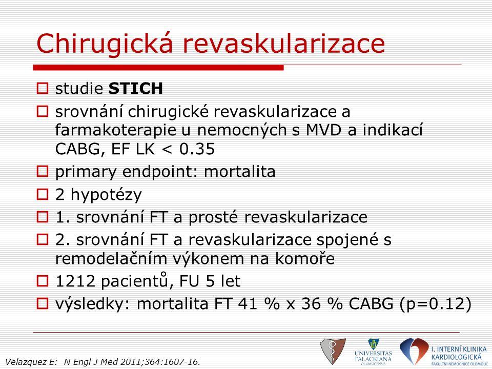 Chirugická revaskularizace