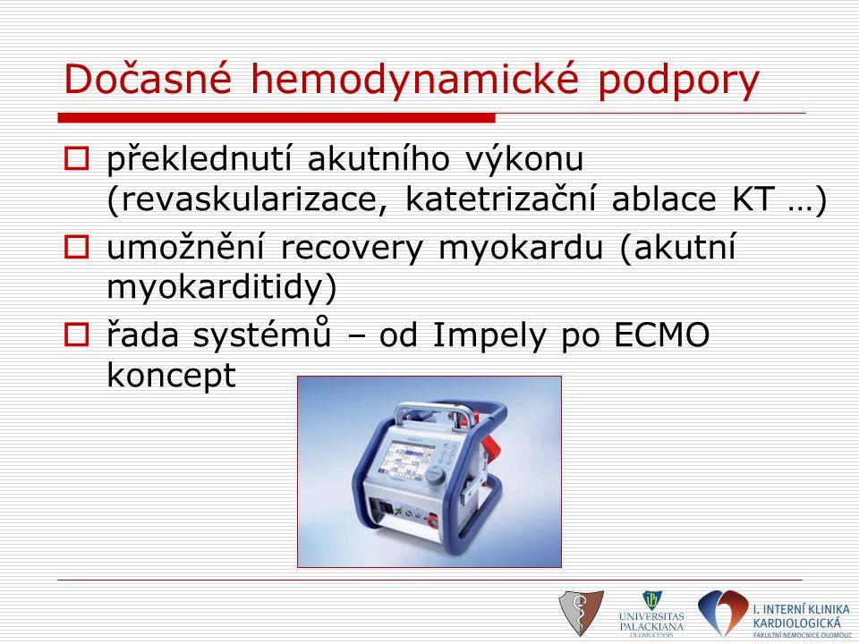 Dočasné hemodynamické podpory