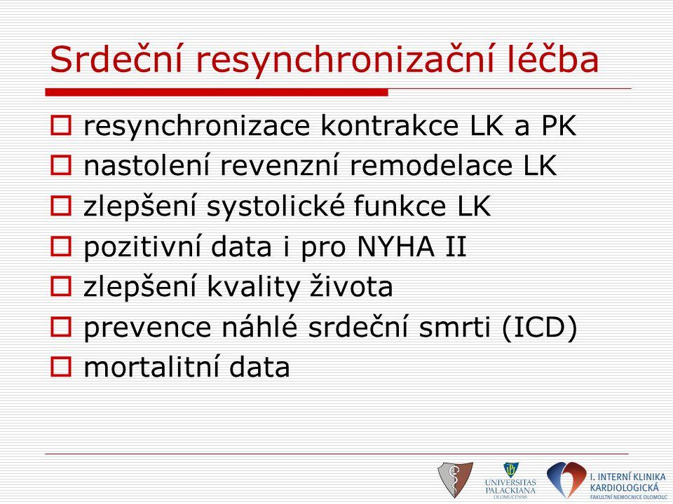 Srdeční resynchronizační léčba