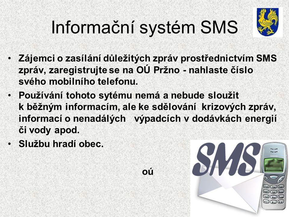 Informační systém SMS