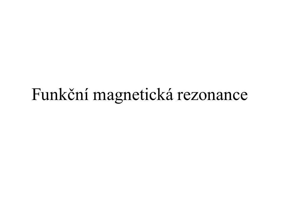 Funkční magnetická rezonance