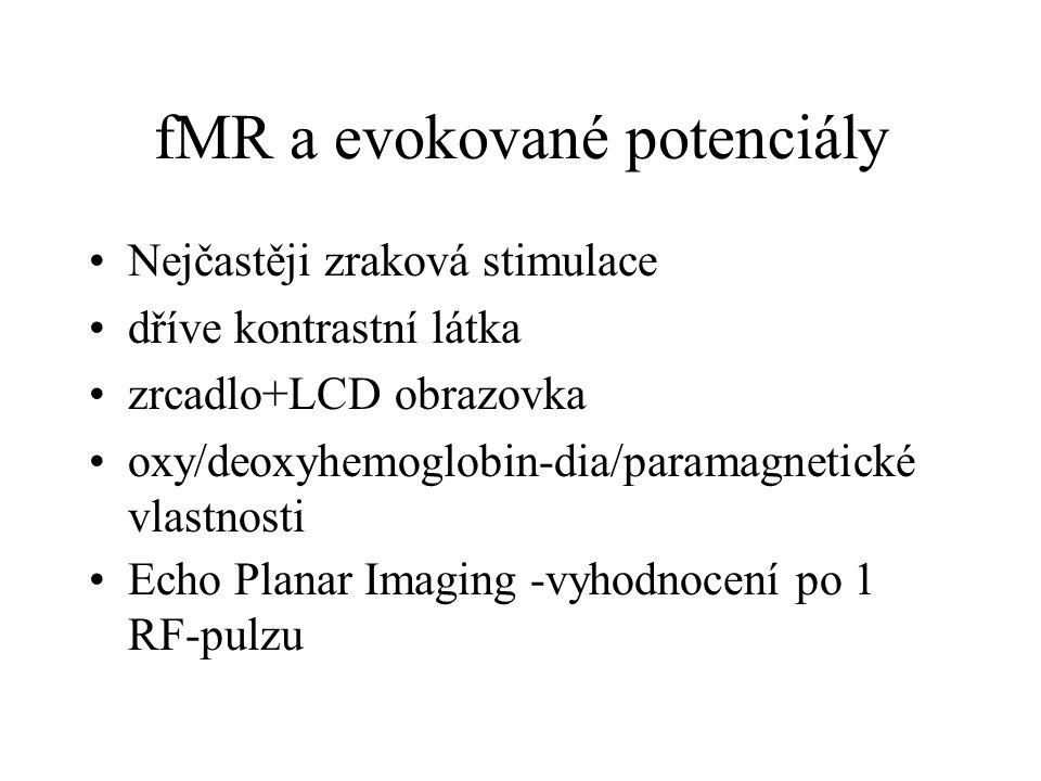 fMR a evokované potenciály