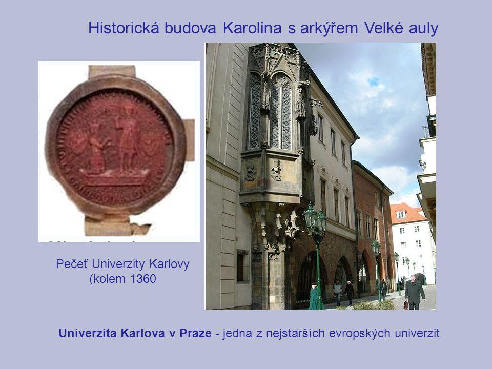 Pečeť Univerzity Karlovy (kolem 1360