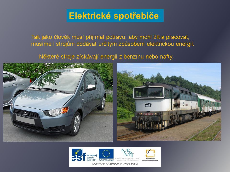Elektrické spotřebiče