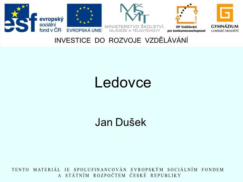 Ledovce Jan Dušek