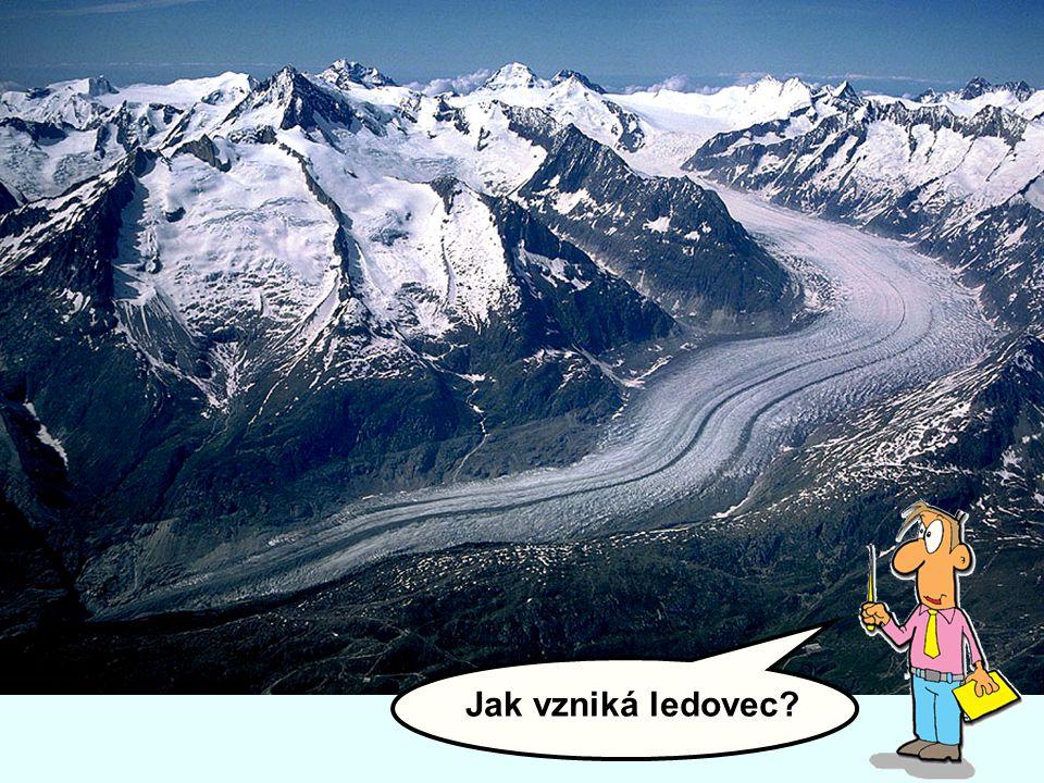 Jak vzniká ledovec