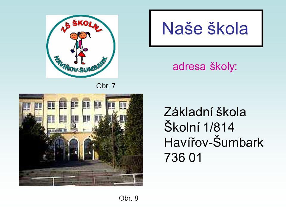 Naše škola adresa školy:
