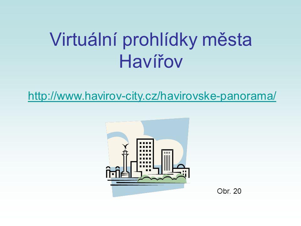 Virtuální prohlídky města Havířov