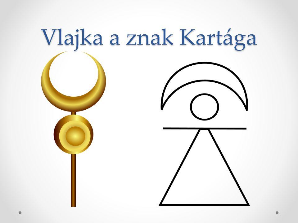 Vlajka a znak Kartága