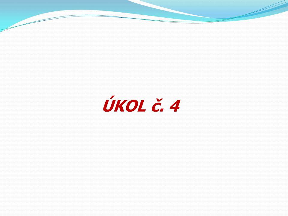 ÚKOL č. 4