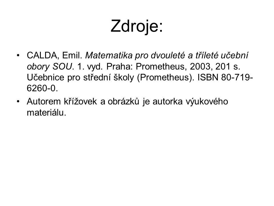 Zdroje:
