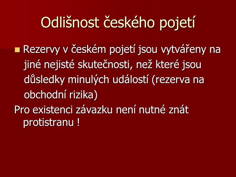 Odlišnost českého pojetí