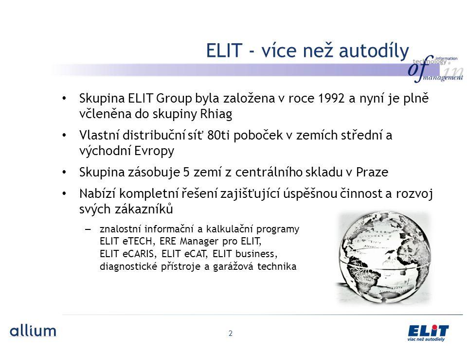 ELIT - více než autodíly